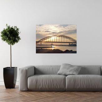 Poster Waalbrug Nijmegen