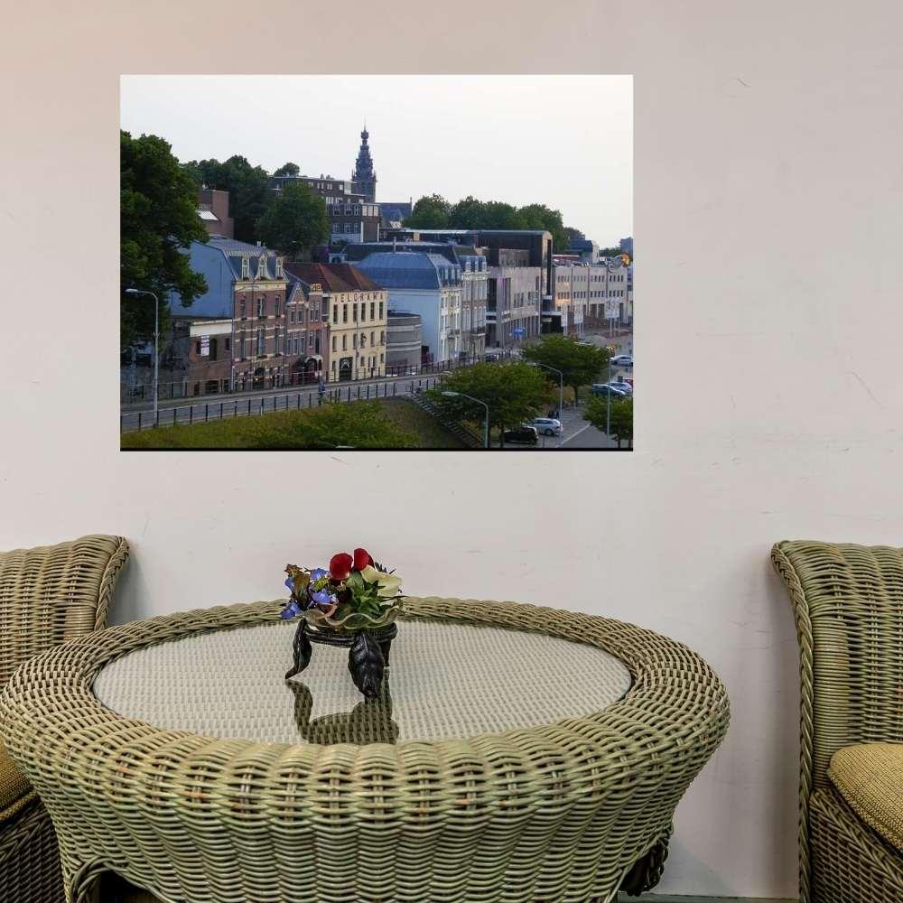 Poster skyline Nijmegen