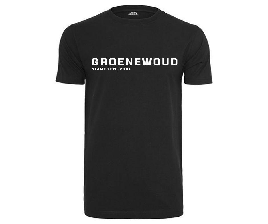 Nijmegen mijn stad buurt shirt Groenewoud